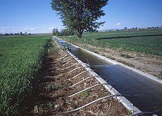 Les techniques plus économes en eau commencent à être développées