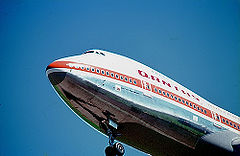 747-100 de la compagnie Qantas