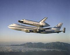 Un Boeing 747 de la NASA