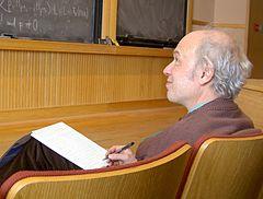 Pierre Deligne, Mars 2005