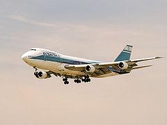 Un Boeing 747-200 Israélien