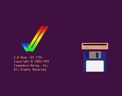 Démarrage d'un Amiga avec Kickstart 2.x
