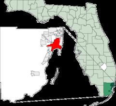 Localisation de Miami