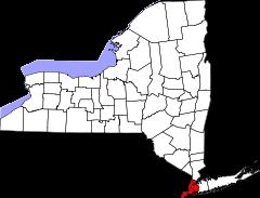 Localisation de New York