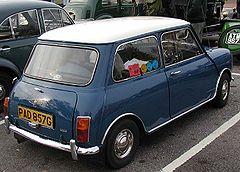Austin Mini Cooper (998 cm³) de 1968