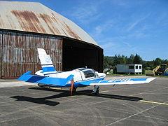 MS Rallye 893 utilisé par l'Aérodrome de Besançon-Thise pour remorquer des planeurs.