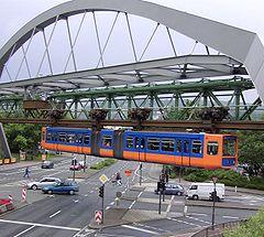 le monorail de Wuppertal
