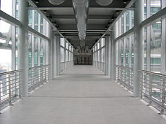 Vue interne du SkyBridge