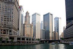 La rivière Chicago