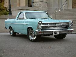 Une Ford Ranchero de 1967