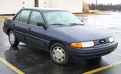 Ford Escort USA 1995-96