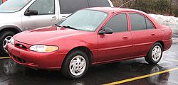 Ford Escort USA 1997-2001