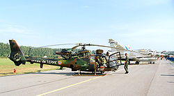 SA 342M Viviane au Radom Air Show en 2005