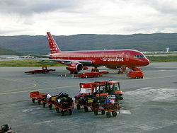 Un Boeing de la compagnie aérienne Air Greenland