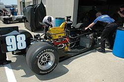 Le moteur Honda conçu par Ilmor pour le championnat IndyCar 2007