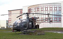 SE 3130 Alouette II de l'ALAT en exposition statique