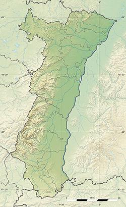 (Voir situation sur carte: Alsace)