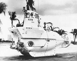 Alvin, l'homologue américain du Nautile