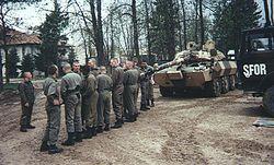 Nettoyage du canon d'un AMX-10 RC