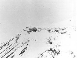 Photographie de l'anomalie d'Ararat prise en 1949