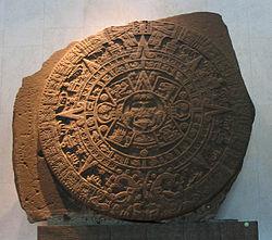 La piedra del Sol est exposée au Museum achéologique de Mexico