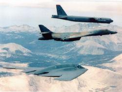 B-2, B-1B et B-52, les 3 générations de bombardiers stratégiques en service dans l'USAF
