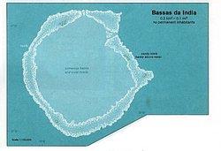 Carte de Bassas da India.