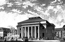 Théâtre de Besançon, 1784
