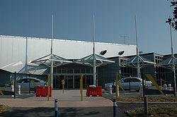 L'aéroport, vue extérieure