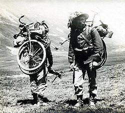 Dès la guerre de 14-18, les vélos pliants existaient et étaient utilisés