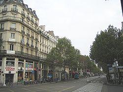 Boulevard de Sébastopol, Paris