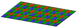 Filtre de Bayer RGB