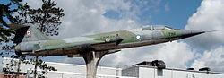 CF-104 canadien au musée de Borden