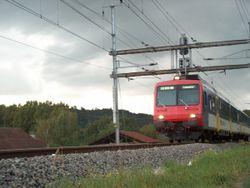Voiture pilote d'un train r�gional des Chemins de fer f�d�raux suisses