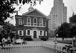 Le Carpenter's Hall accueillit le Premier Congrès continental en 1774