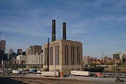Centrale thermique à flamme de Chicago (USA)