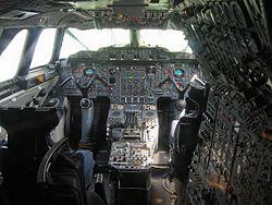 Cockpit de Concorde
