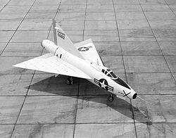 Le Convair XF-92A a été le premier avion americain à aile delta