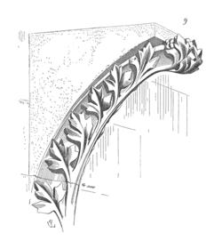 Corbeau, d�couvert pr�s de la cath�drale de Troyes