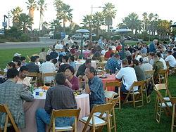 Réception à la conférence CRYPTO 2003