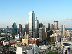 Vue générale de Dallas