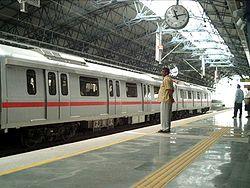 Métro de Delhi (Shahadara Station)