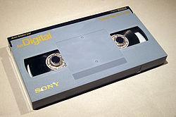 Cassette Betacam numérique L