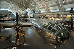 Enola Gay au U.S Air and Space Museum