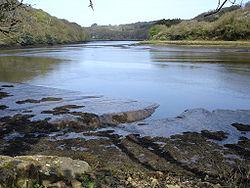 Estuaire du Léguer, depuis le sentier côtier rive gauche