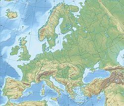 (Voir situation sur carte: Europe)