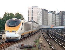 Eurostar à Londres