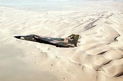 Un F-111F pendant la Guerre du Golfe