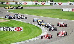 Course de Formule 1 à Indianapolis en 2003