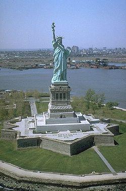La statue de la Liberté (1886)